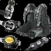 Cressi ELLIPSE STEEL Hard Gear Set