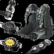 Cressi ELLIPSE BLACK Hard Gear Set