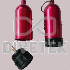 Divetek Mini Tank with brass Pick