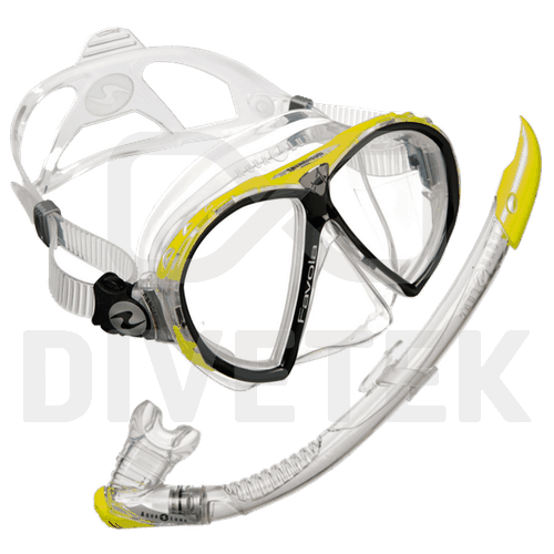 Aqualung Favola Mask and Zephyr Snorkel Pack