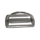SS Weightbelt keeper with D-ring