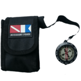Compass in Pouch with Band