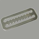 Divetek Tek D-ring slider with teeth