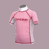 Cressi Rash Guard JNR Short Sleeve Girl XS