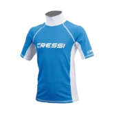 Cressi Rash Guard JNR Short Sleeve Boy XS