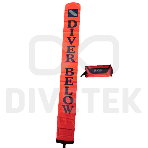 Divetek Deluxe Deploy Buoy with Pouch