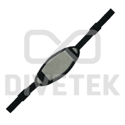 Divetek Neoprene Mask Strap with buckles