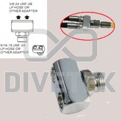 Divetek LP Hose or other Adapter