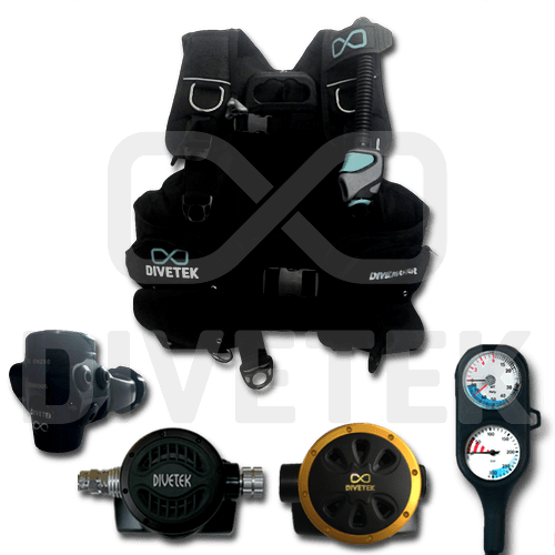 Divetek Military Hard Gear Set