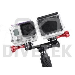Side-by-side Double Mount - GoPro