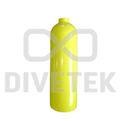 Divetek 2L Aluminium Bailout Cylinder