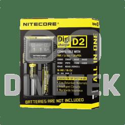 NiteCore D2 Digital 2Bay Charger