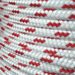 AQL Southern Yacht Braid 10mm White/Red