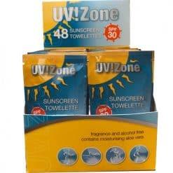 UV! Zone SunScreen Towelette
