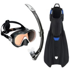 Aqualung Storm, Plazma and Zephyr Snorkel Set
