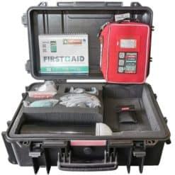 Divetek Hard Case First Aid and Oxygen Kit