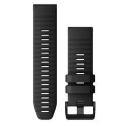 Garmin QuickFit 26mm Silicone Dive Strap Black