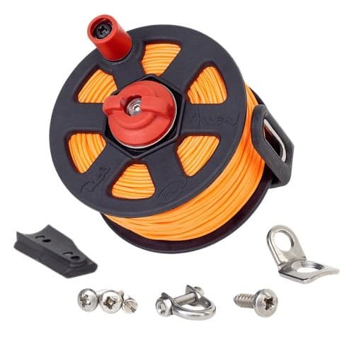 Vecta2 Gun Reel with 60m*1.9mm UHMPE Orange