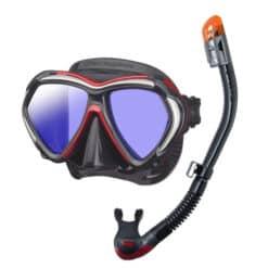 Tusa Paragon Mask with UV Lenses + Snorkel