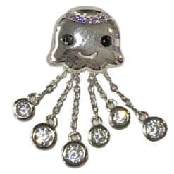 7Seas Bubbly Octopus Charm