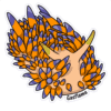 Gasflame Nudibranch Stickers